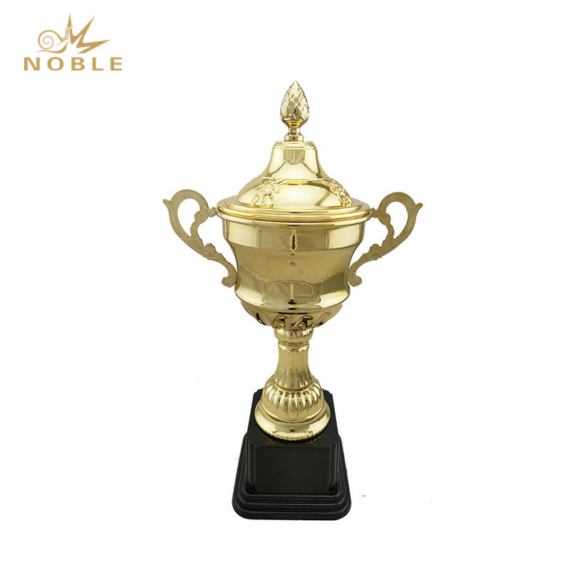 Metal Sport Trophy with Logo Art Metal Welded Trophy