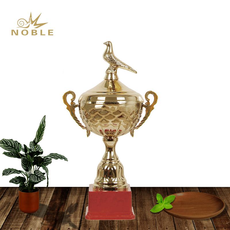 Pigeon Art Metal Trophy  Field Hockey Awards with Logo