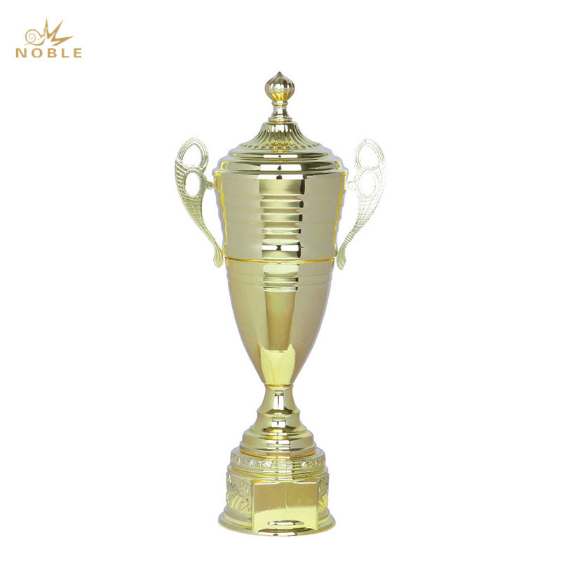 Awards Cup Trophy Gold and Silver Metal Corporate Cup Award Engraved Plate on Request