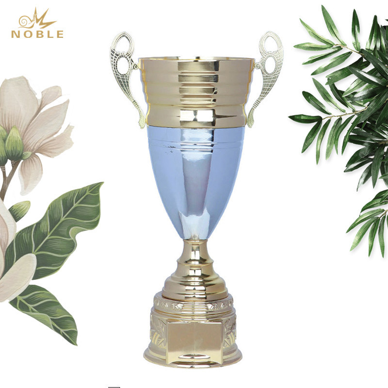 Awards Gold Cup Trophies with Custom Engraving Personalized Gold Cup Achievement Trophy On Deluxe Round Base