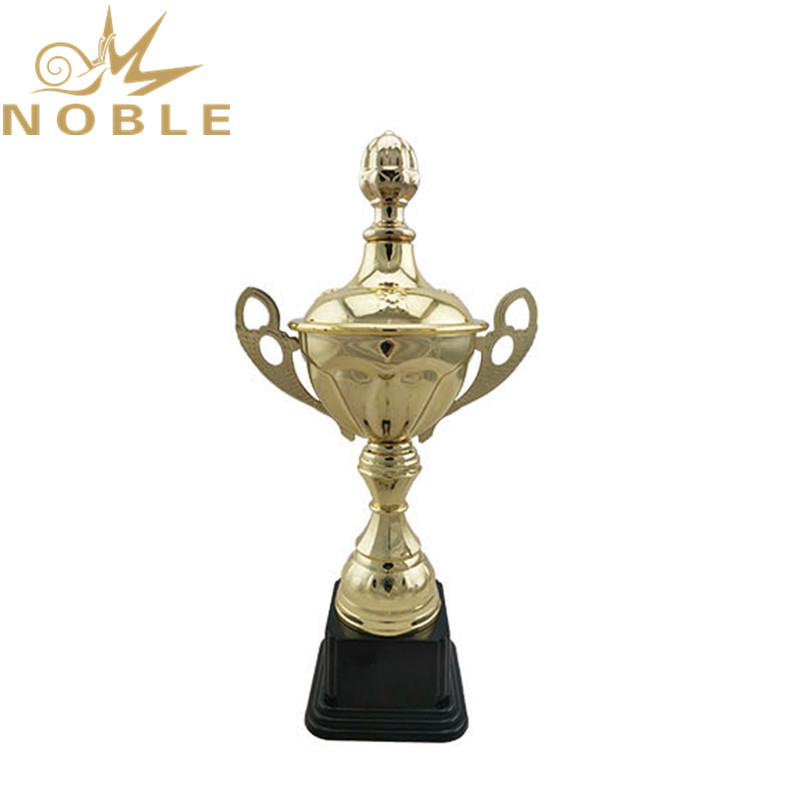 new design hot selling metal cup sports trophy award volleyball trophy