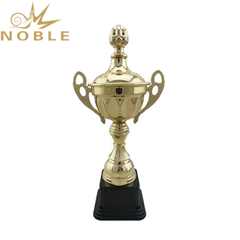 new product custom trophy cup plastic base metal sports award