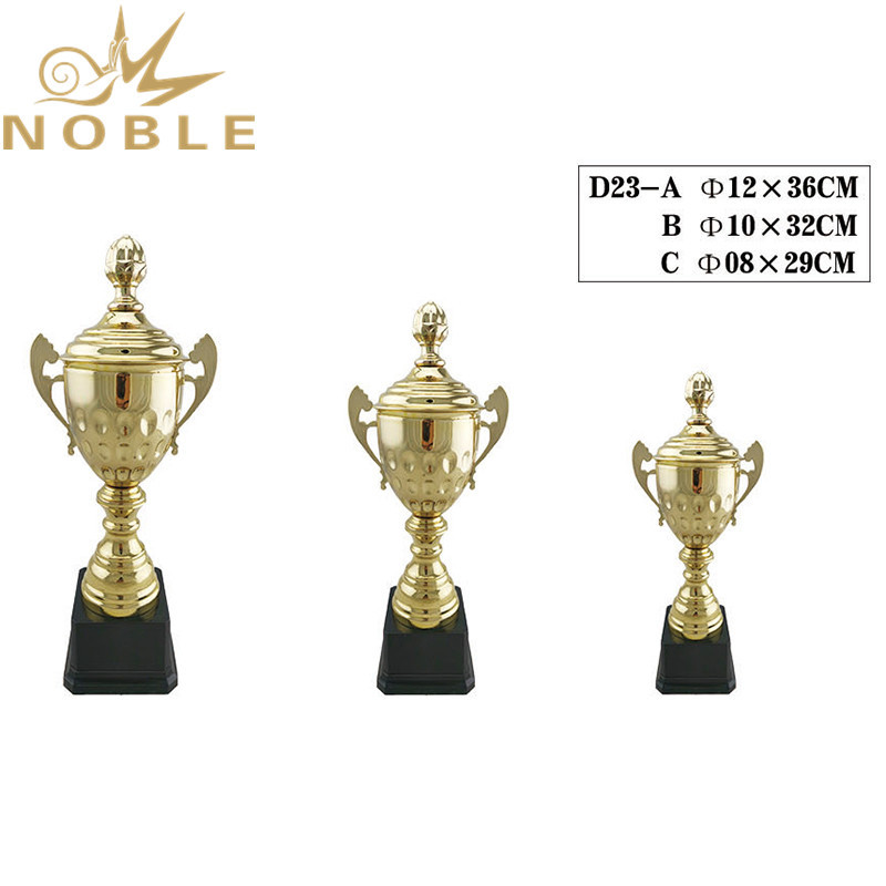 High quality custom metal sports cup trophy for soccer games