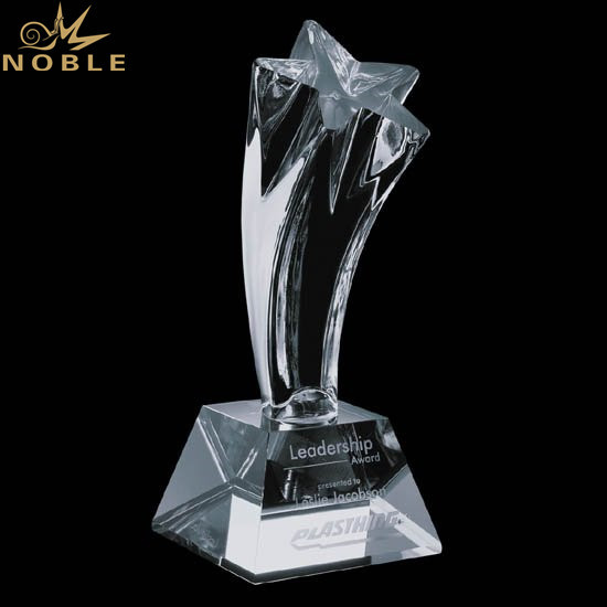 Wholesale Star Crystal Star Award For Great Achievements