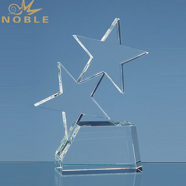 New Design Crystal Trophy Star Crystal Award Wholesale Sports Trophy