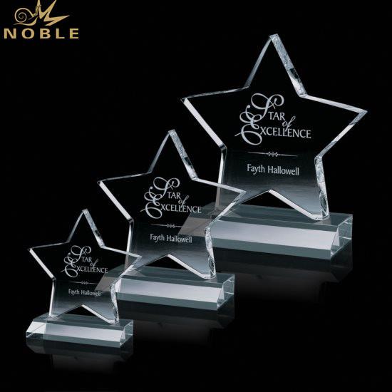Crystal K9 Glass Trophy Award Souvenir Craft