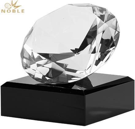 Diamond Shaped Crystal Blank Award Trophy For Wedding Gift