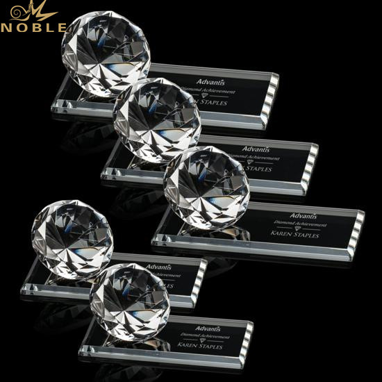 Personalized Diamond Crystal Award Trophies