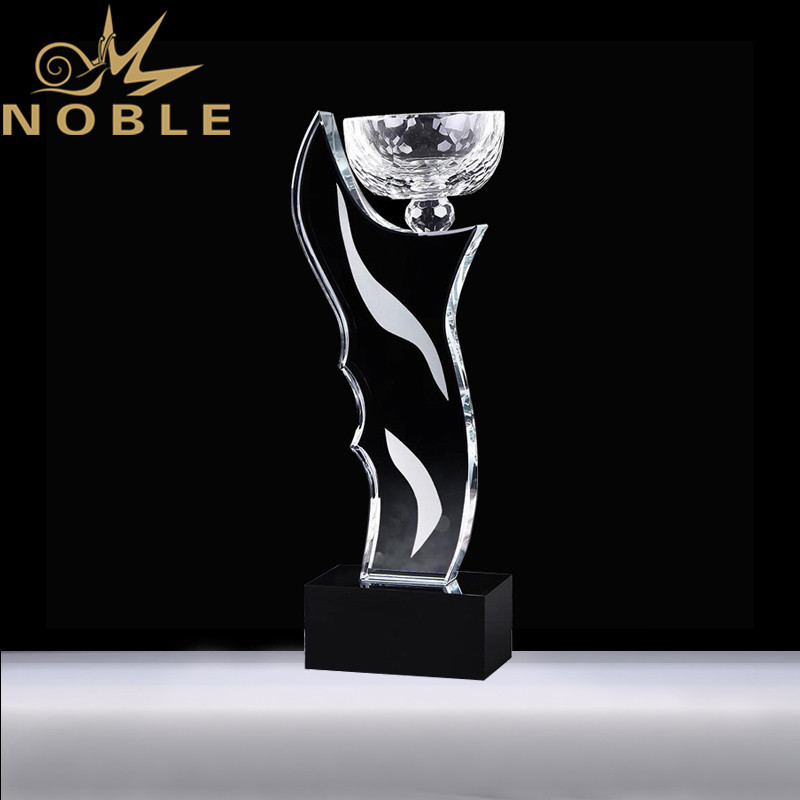 Free Engraving High Quality Crystal Trophy