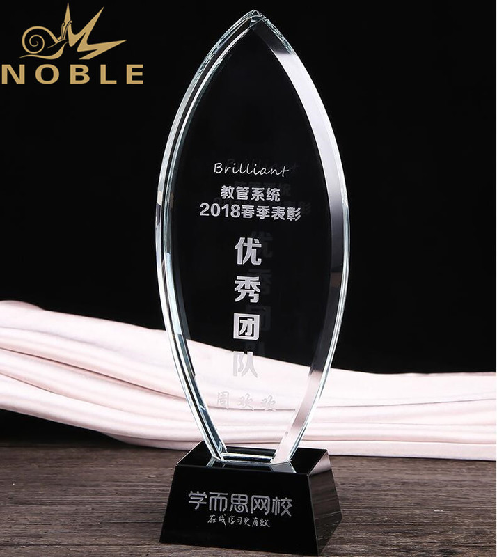Free Engraving High Quality Crystal Plaque Award