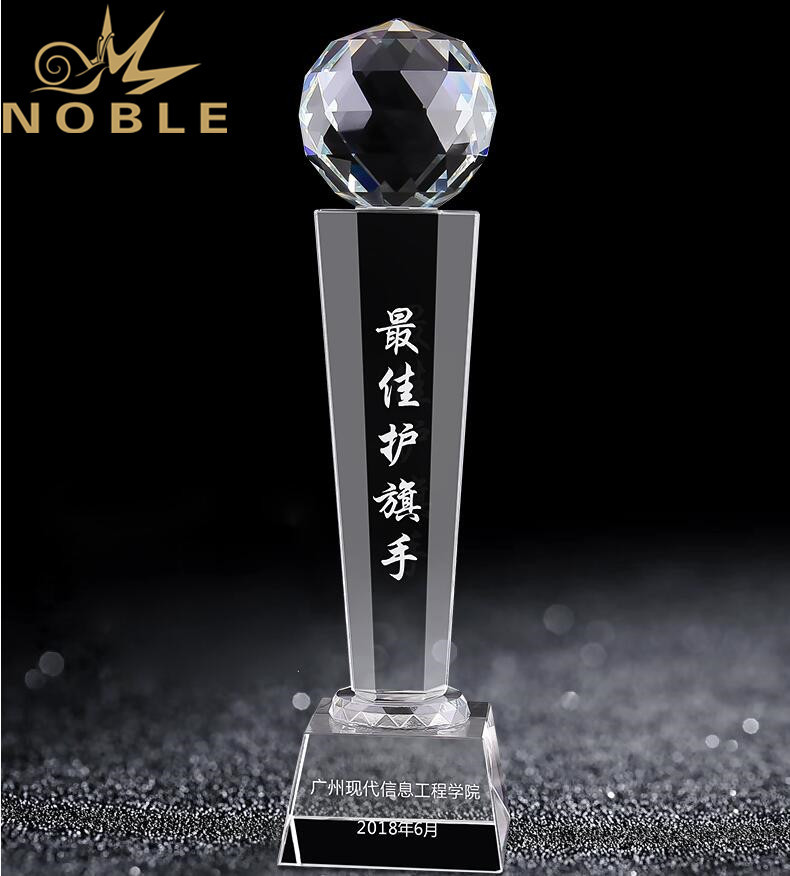 High Quality Custom Crystal Diamond Trophy