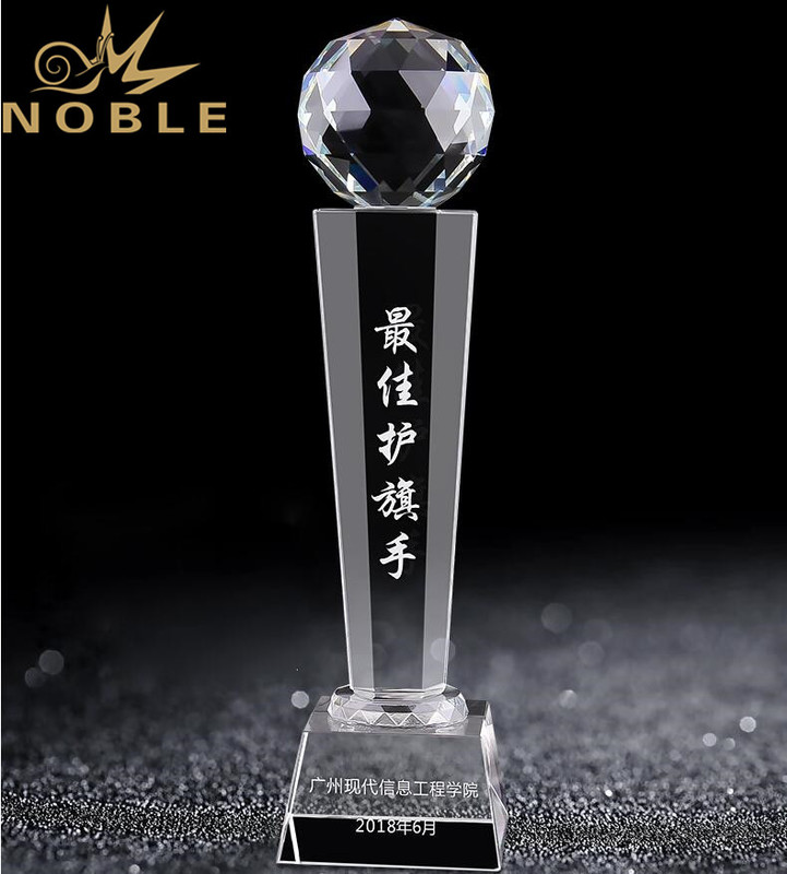High Quality Custom Crystal Diamond Trophy