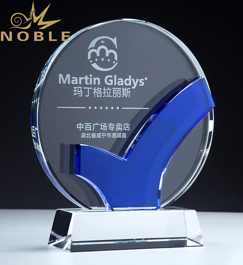 2020 New Design HighQuality Crystal Plaque Award