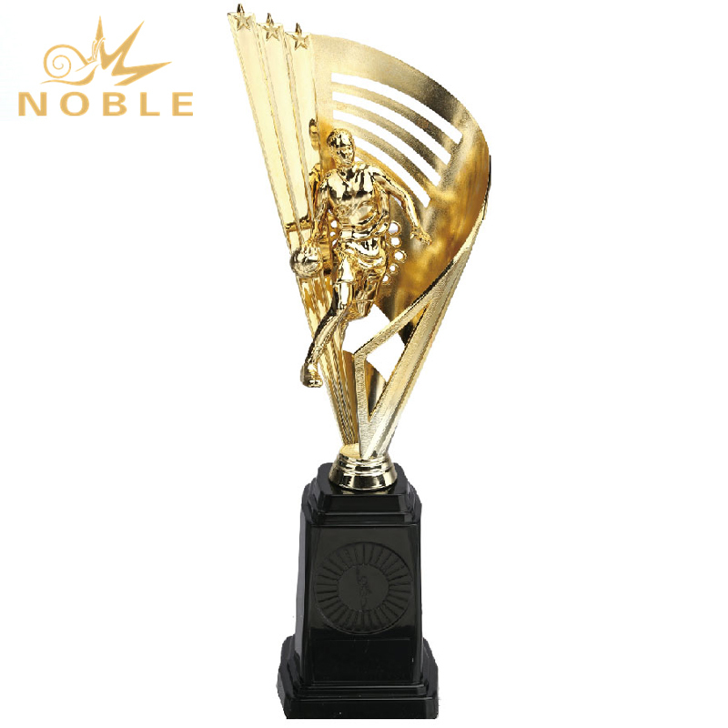 High Quality Plastic Basketball Trophy for Female
