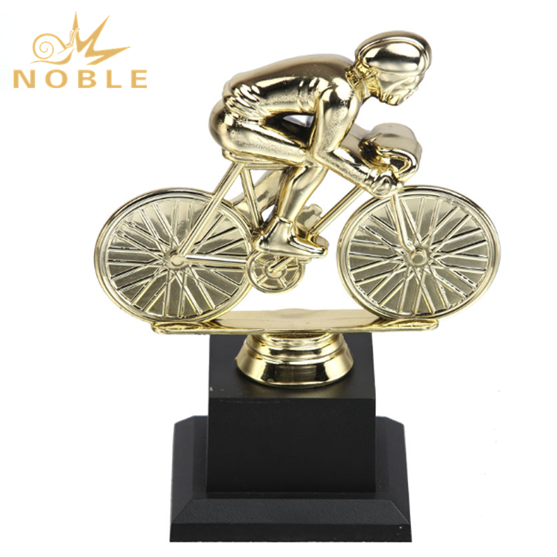 Custom New Design Plastic Statue Bicycle Sports Award