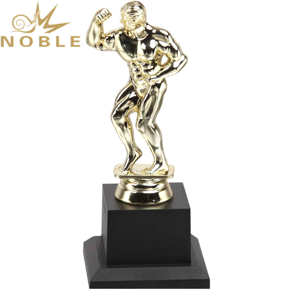 New Design Plastic Bodybuilding Trophy