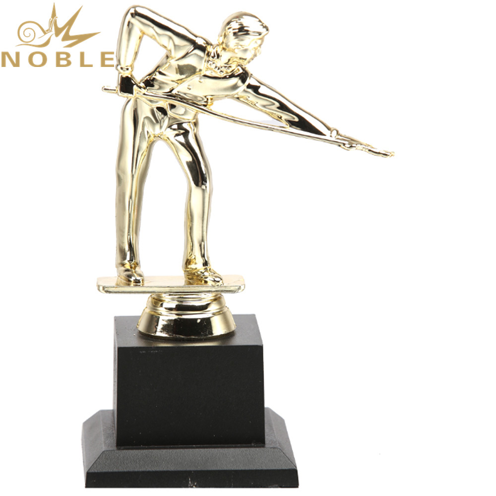 New Design Plastic Figurine Award Snooker Trophy