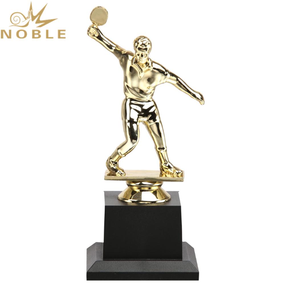 New Design Plastic Figurine Award Custom Sports Table Tennis Trophy