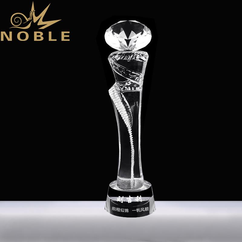 Noble Custom Crystal Diamond Trophy