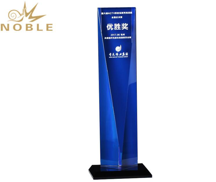 High Quality New Design Custom Crystal Tower Award