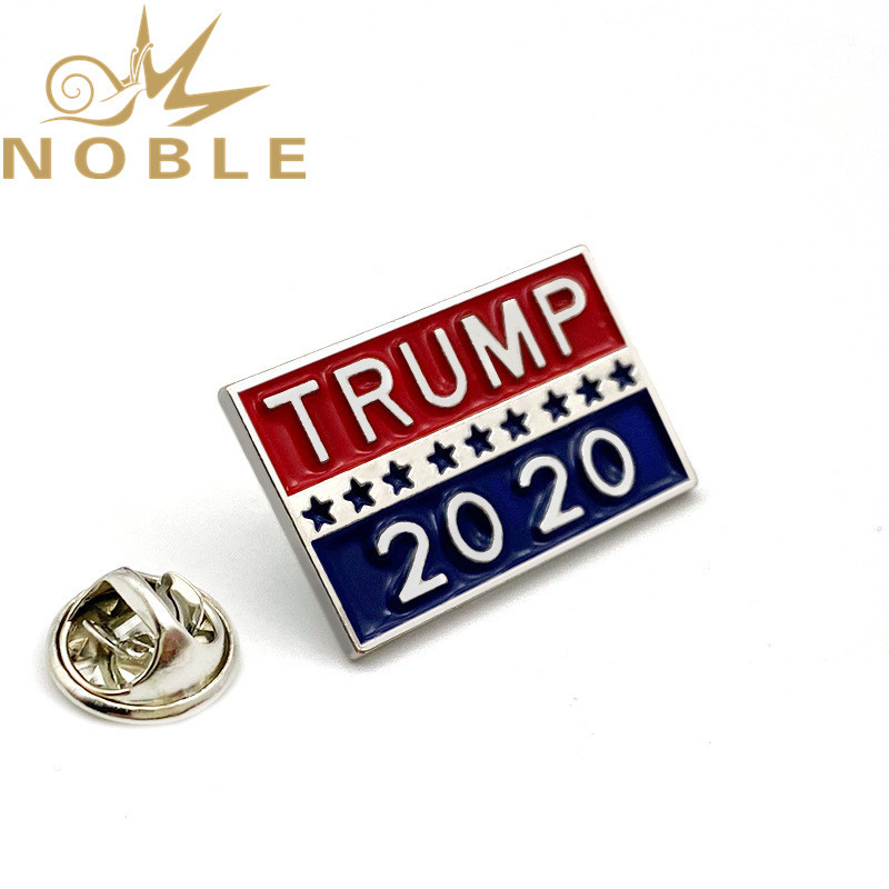 Custom 2020 American Vote Trump Lapel Pin Badges in Stock