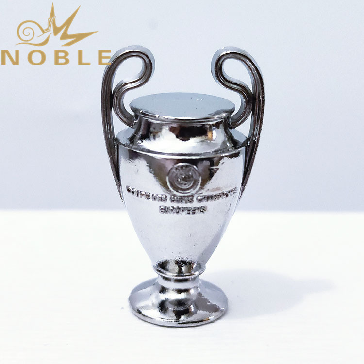 Football Fans Gift Mini UEFA Champions League Metal Trophy in 35mm Height