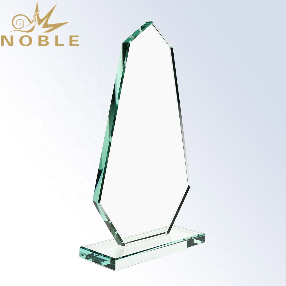 Excellent New Design Custom Jade Glass Plaque Trophy with Your Engraving