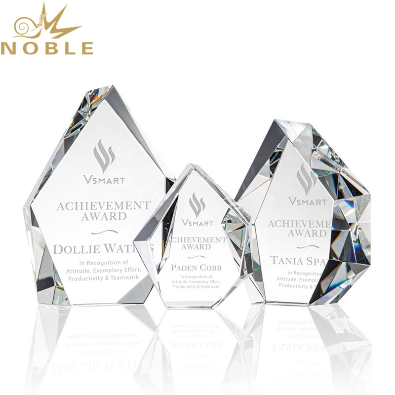 High Quality Custom Optical Crystal Block Award
