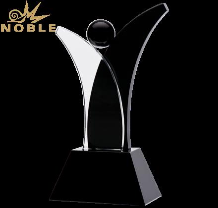 2020 New Design Custom Champion Crystal Dance Trophy