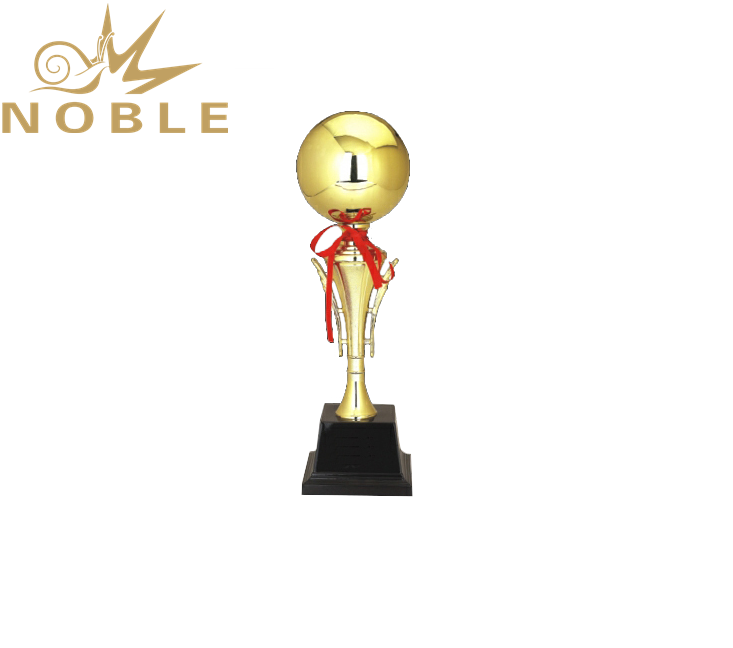 Noble New Design Gold Ball Unique Metal Trophy