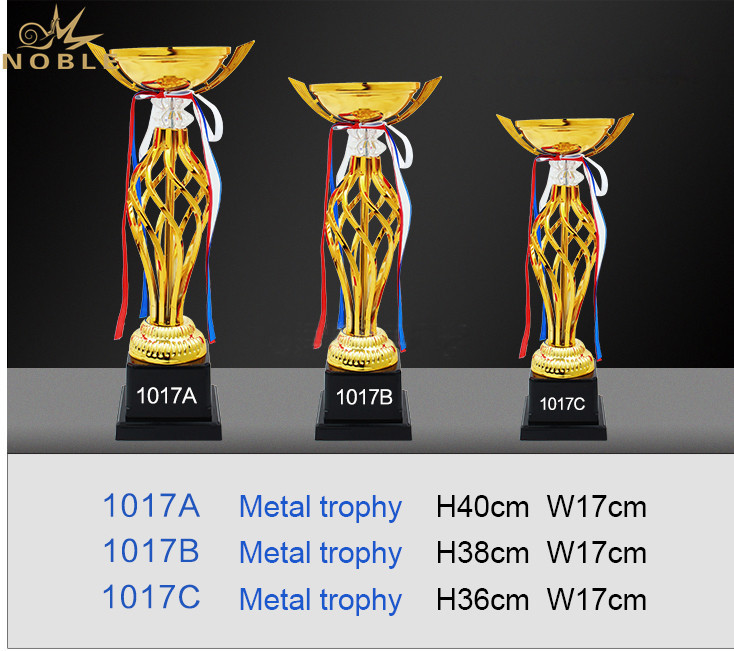Luxury Design High Quality Custom Metal Cup Trophy