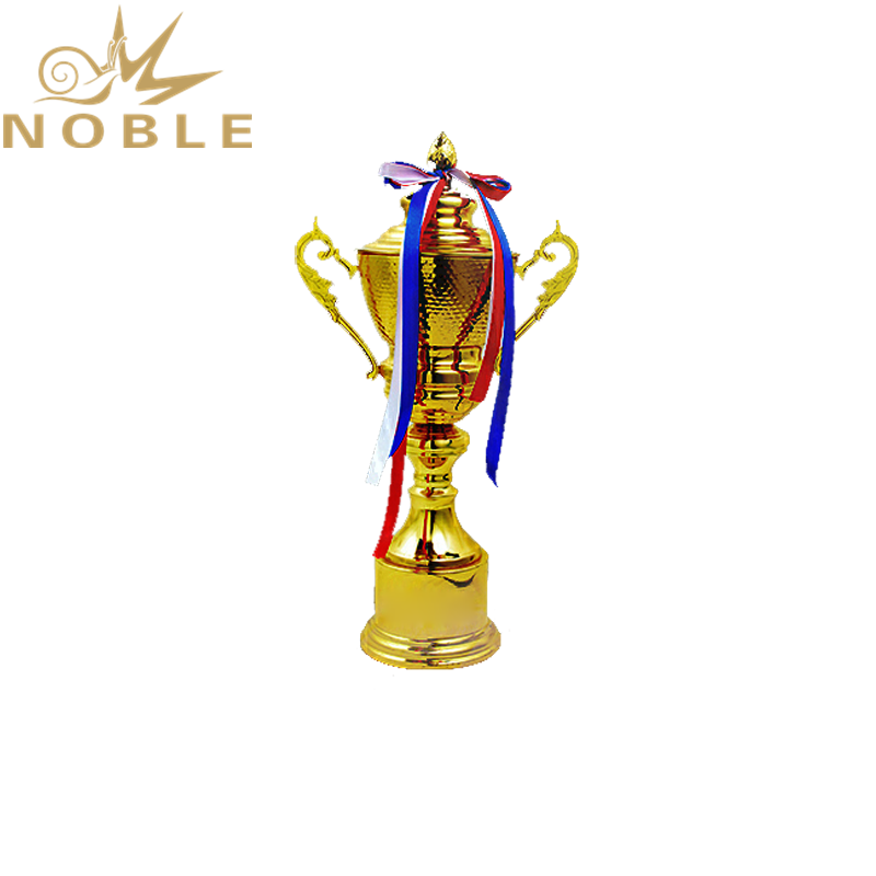 Four Sizes Available Shiny Gold plating Custom Music Competition Trophy