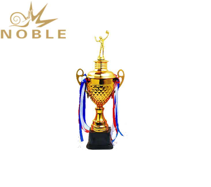 Noble Gold Metal Custom Sports Volleyball Trophy Cups