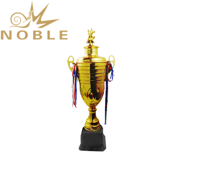 Excellent Shiny Gold Custom Dance Competition trophy Metal Ballet Cup Trophy for Dancers
