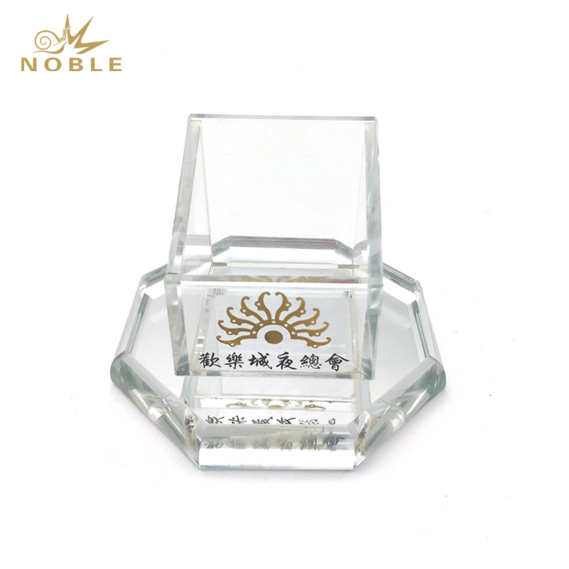 Popular Best Selling Custom Crystal Pen Holder with Your Logo Engraved