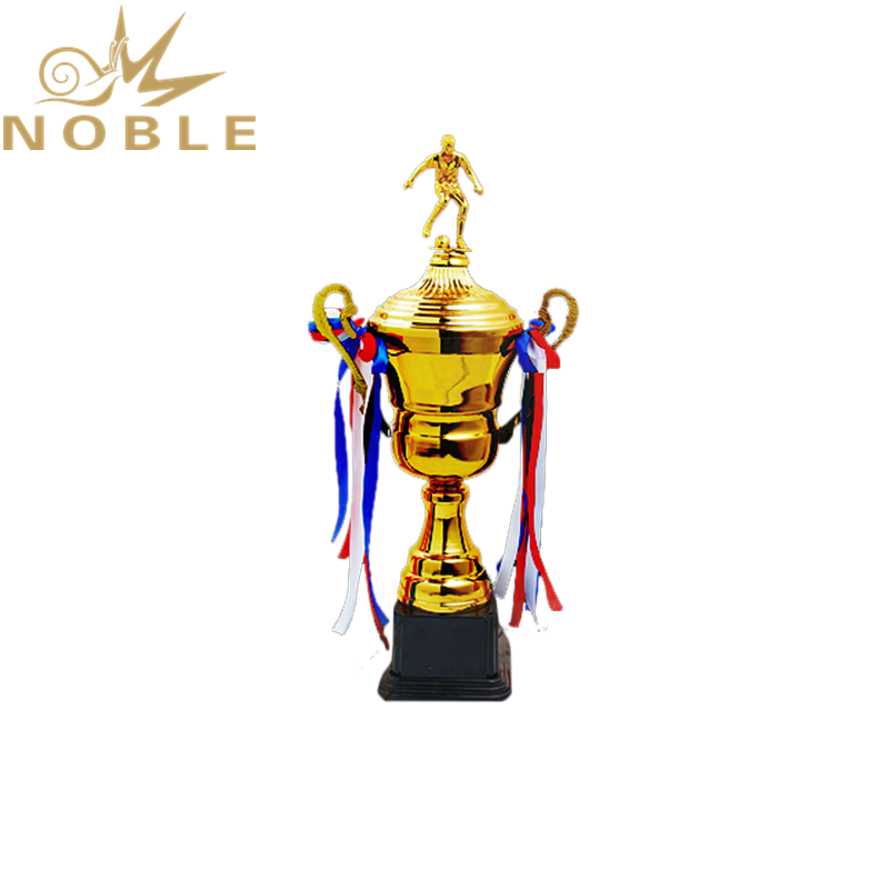 Best Selling World Sports Cup Metal Soccer Figurine Trophy