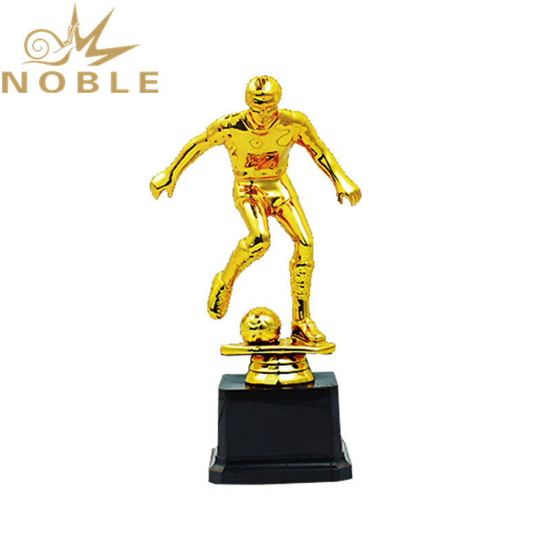Shiny Gold Metal Scooer Player Figurine Award Trophy