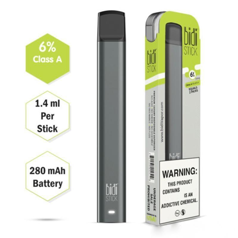 Different Flavors Disposable Vape Pen Bidi Stick Disposable Pod Device