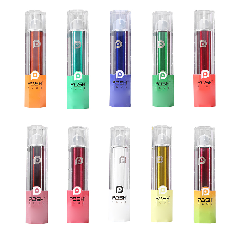 Hot Selling Popular Disposable Vape Pen Push Plus Disposable Pod Device