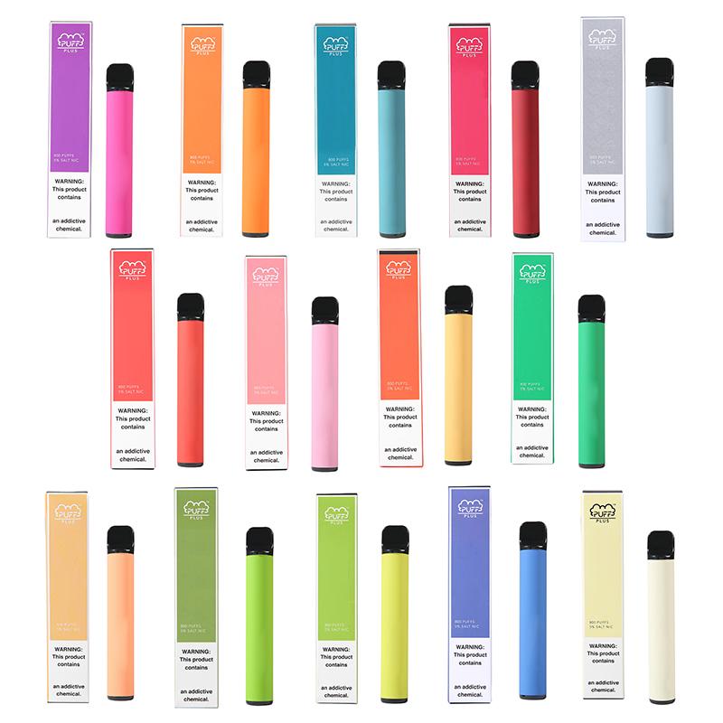 Popular Disposable Vape Pen High Quality Puff Plus Disposable Pod Device