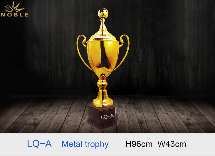 Luxury High Quality  Big Size Large Metal Ball Cup Trophy