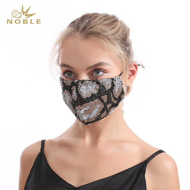 Christmas Masquerade Mask for Women Bling Sequins Fashion Party Face Mask for Girls