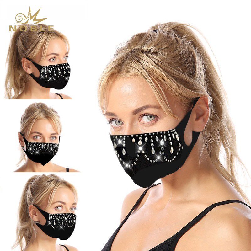 Best Selling Women's Rhinestone Fashionable Face Decoration Party Mask