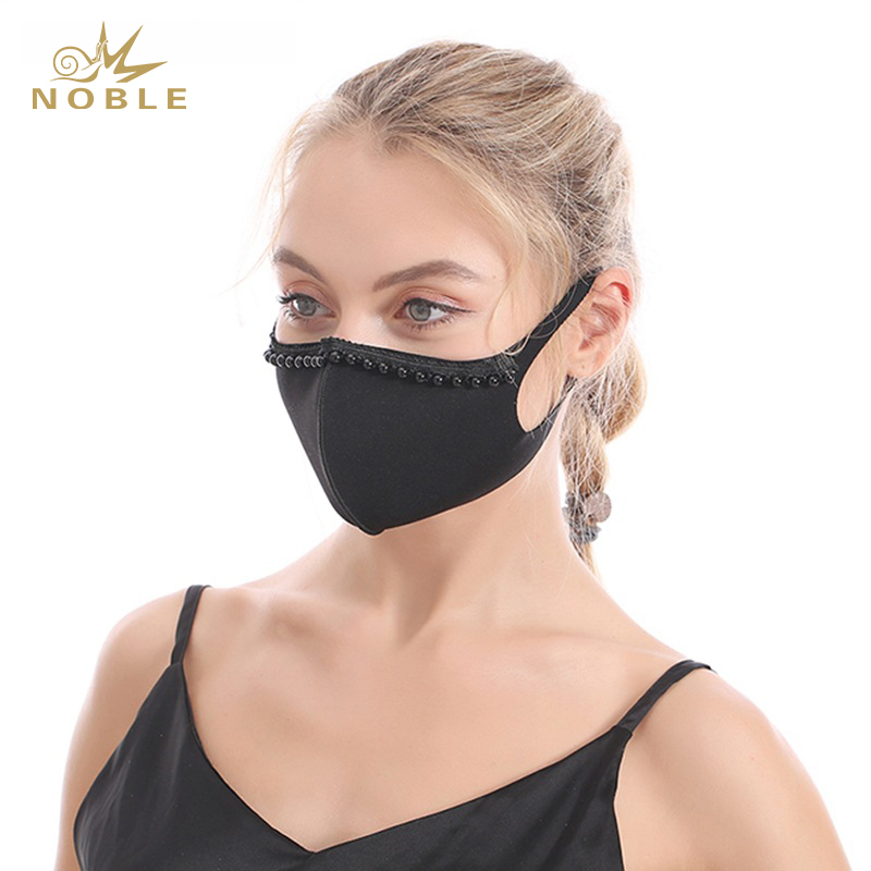 High Quality Washable Reusable Diamond Decorative Face Mask as Gifts
