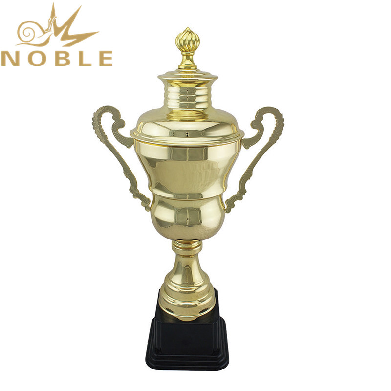High Quality Gold Plated Metal Judo Trophy for Sports Clubs