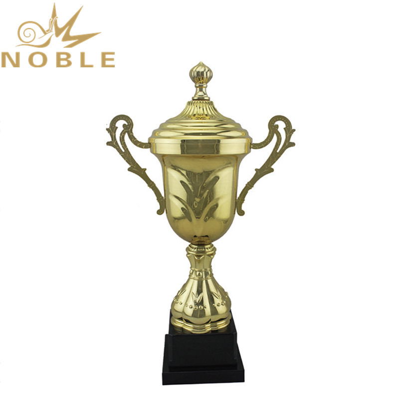 Hot Selling Sports Competition Cups Metal Golf Trophy