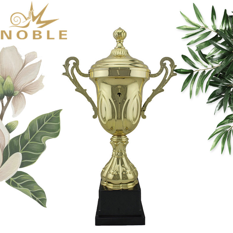 Custom Metal Weight Lifting Sports Trophy