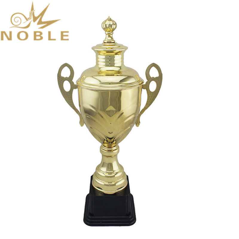 Free Logo Printed High Quality Sports Metal Kickboxing Trophy
