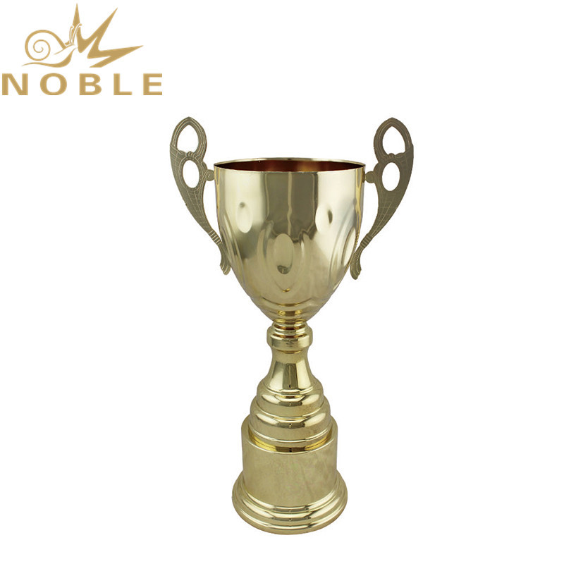 Stock Available Cheap Metal Sports Trophy Cups for Volletball