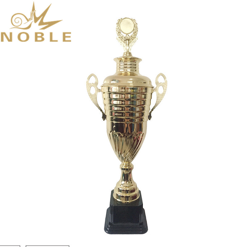 Custom Large Cups Outstanding Metal Body Building Trophy for Best Player